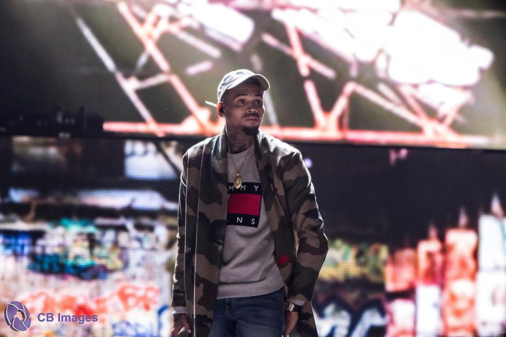 Chris Brown in de Ziggo Dome