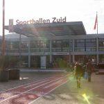 Adriene Mishler in Sporthallen Zuid in Amsterdam