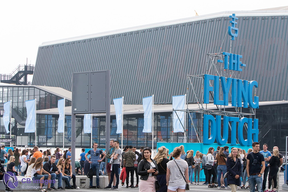 The Flying Dutch 2017 in Rotterdam Ahoy Buiten