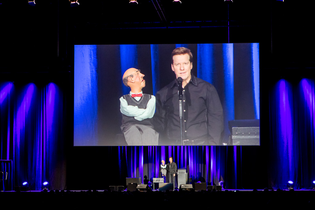 Jeff Dunham – Passively Aggressive Tour in Rotterdam Ahoy