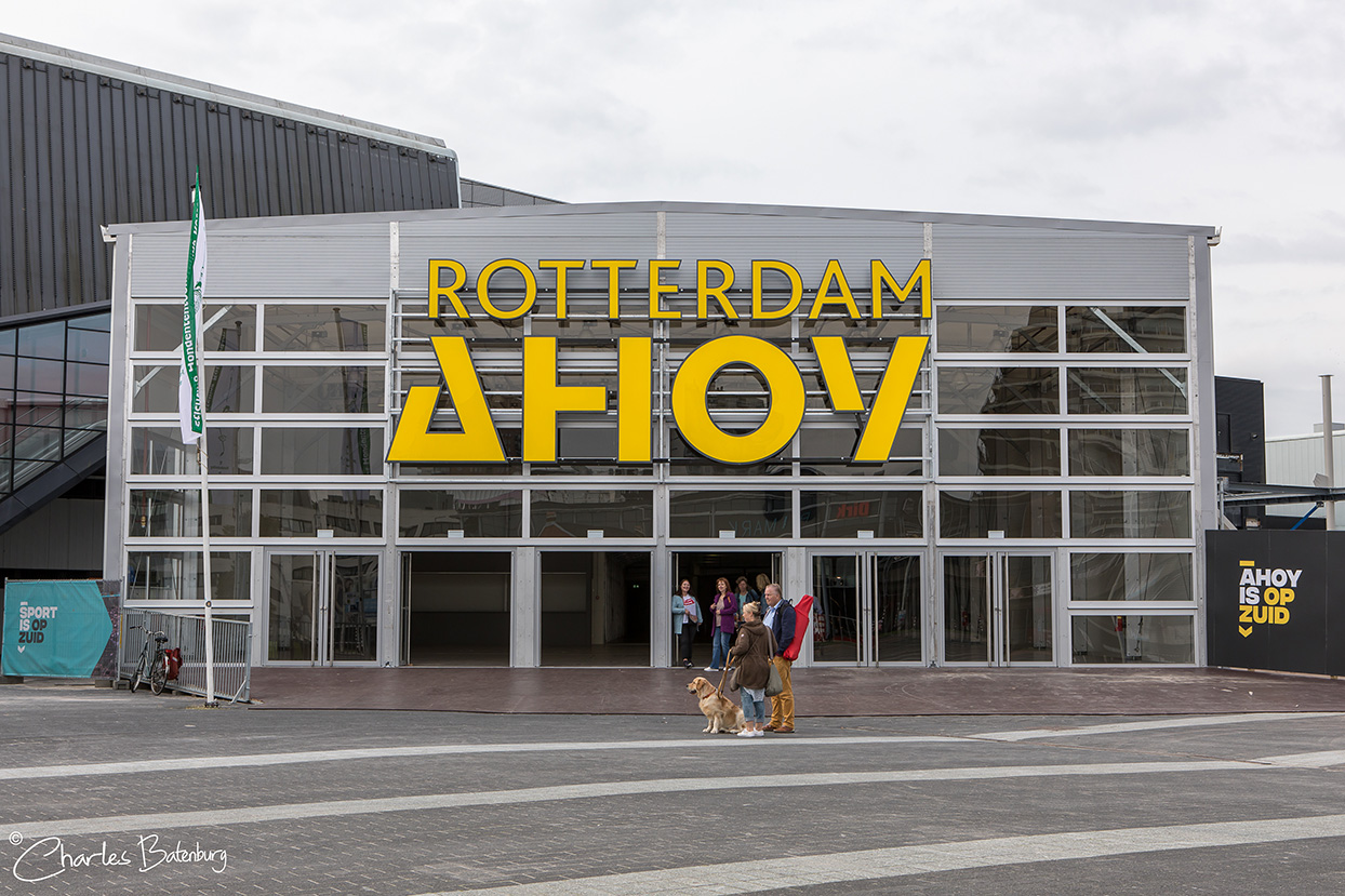 Dogshow 2018 in Rotterdam Ahoy