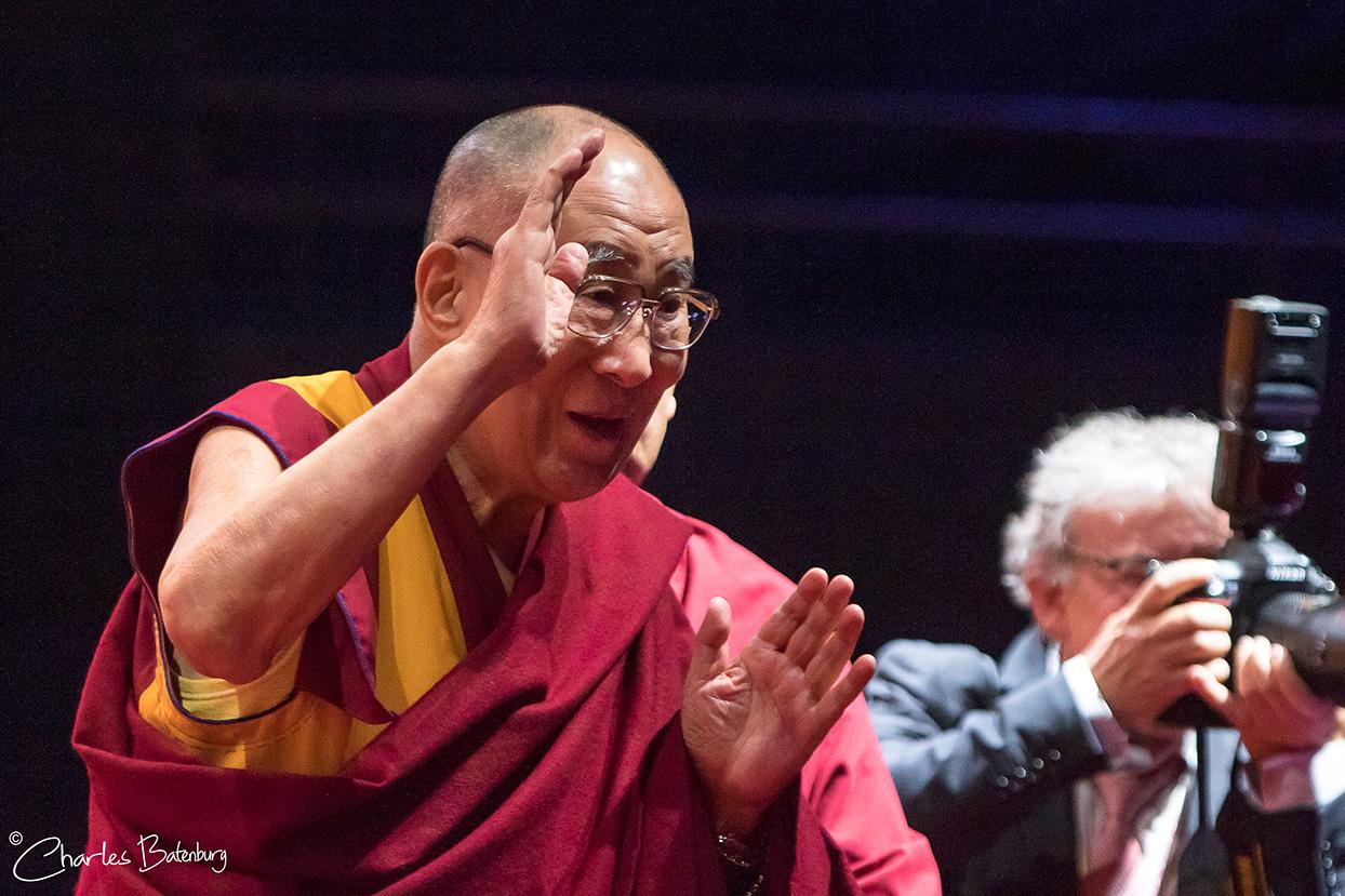 Dalai Lama in Rotterdam Ahoy