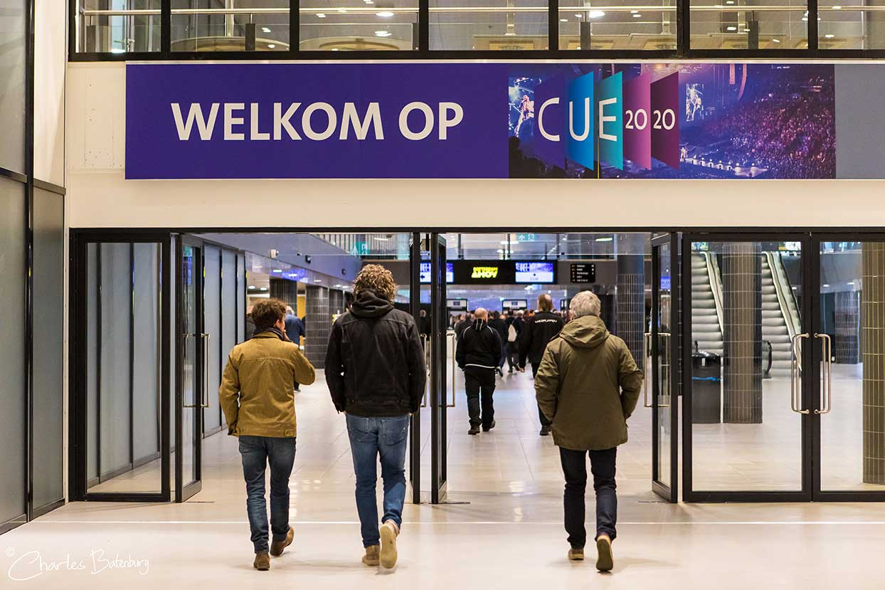 CUE2020 in Rotterdam Ahoy